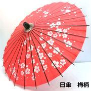 【和傘】【日傘】日傘 梅柄