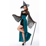 Halloween ハロウィン コスプレ 衣装 制服 コスチューム 魔女 レディース
