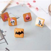 ハロウィン  ハロウィーン かぼちゃ 魔女 お化け アクセサリー