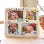セール 【Bambini*】かわいいおかおフレーム★赤ちゃんのいろいろな表情を。