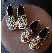 【子供靴】★可愛いデザインの子供靴&シューズ★ヒョウ柄スニーカー★2色★サイズ26-36