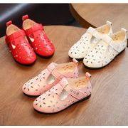 【子供靴】★可愛いデザインの子供靴★子供向け皮靴★女の子★3色★サイズ21-36