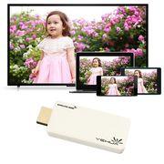 ドングル レシーバー ワイヤレス ディスプレイ スマートフォン、タブレットを無線でテレビに映す WIFI