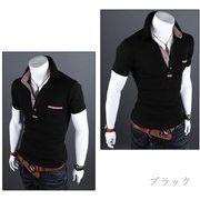 ポロシャツ メンズ Tシャツ カットソー 半袖 ゴルフウェア トップス カジュアル メンズファッション