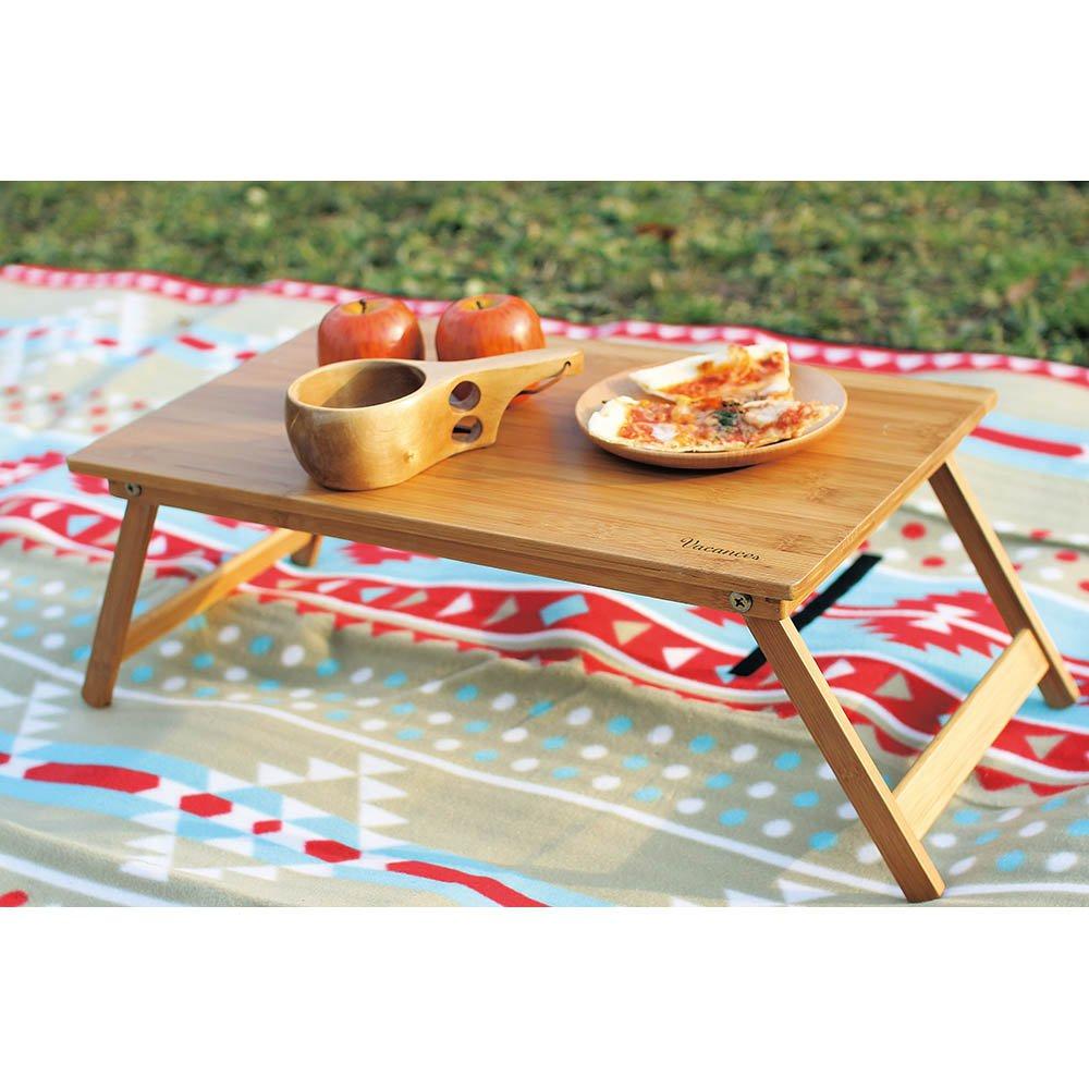 バカンス 折りたたみバンブー ローテーブル