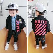 秋服 新しいデザイン 男児 韓国風 長袖 アウターウェア 赤ちゃん ルース トップス 洋