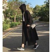 【大きいサイズXL-4XL】【秋冬新作】ファッション/人気コート♪ブラック/ブルー2色展開◆