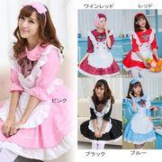 【即日出荷】メイド服/コスプレ衣装【400/5color】