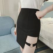 早春 新しいデザイン 女性服 不規則な ハイウエスト 着やせ 着やせ 気質 学生パック