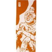 京佑 注染手拭い 34×90cm 縄文手拭い本舗 合掌土偶