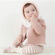 ★女の子 人気2色 可愛い ニットカーディガン★長袖 ラウンドネック キッズ 赤ちゃん 新生児