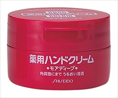 ハンドクリーム 薬用モアディープ100G ジャータイプ 【 資生堂 】