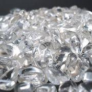 【天然石 パワーストーン】水晶 タンブル(さざれ)(100g)