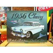 アメリカンブリキ看板 シボレー/Chevy 1956 BelAir