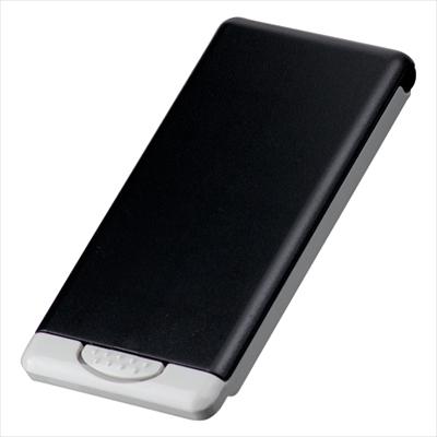 ケース入りクリーナー(黒) /名入れ可 携帯 液晶 めがね ノベルティ 景品