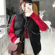 ベスト 秋冬服 新しいデザイン 韓国風 女性 ベスト コンフォート 暖かい 何でも似合う