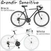 700Cロードバイク Grandir Sensitive 19250 / 19251