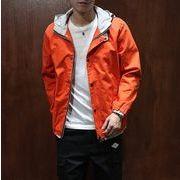 パーカー♪オレンジ/カーキ/ネイビー3色展開◆【新作】