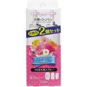 消臭力 自動でシュパッと つけかえ用スプレー ピュアフローラルの香り お徳用2個セット