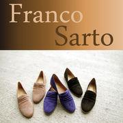 【Franco  Sarto】ドレープ入りフラットシューズ D33C