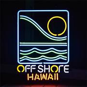 ネオンサイン【OFF SHORE HAWAII】オフショア (ハワイ)