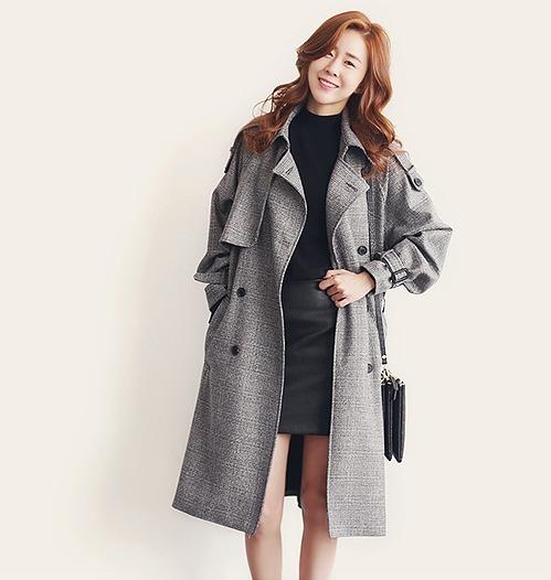 【大きいサイズXL-4XL】【秋冬新作】ファッションコート