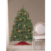 DWJ:ビルドアクリスマスツリー【ウォールステッカー】