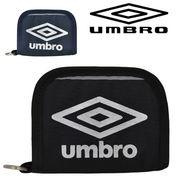 umbro UB ラウンド ウォレット【70610】| メンズ アンブロ かっこいい 黒 キッズ サッカー 野球