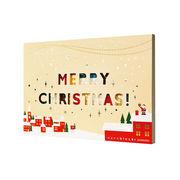 世界最小級の大人プレゼント☆nanoblockクリスマスカード【サンタとえんとつGift】