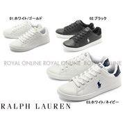 【ポロ ラルフローレン】 RF10042 POLO RALPH LAUREN QUINCEY スニーカー 全3色 レディース