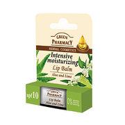 Elfa Pharm Green Pharmacy グリーンファーマシー Lip Balm リップバーム Aloe & Lime アロエ&ライム