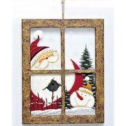 【ウインターフェアセール!】【クリスマス】【ガラスウィンドウ縦】2種