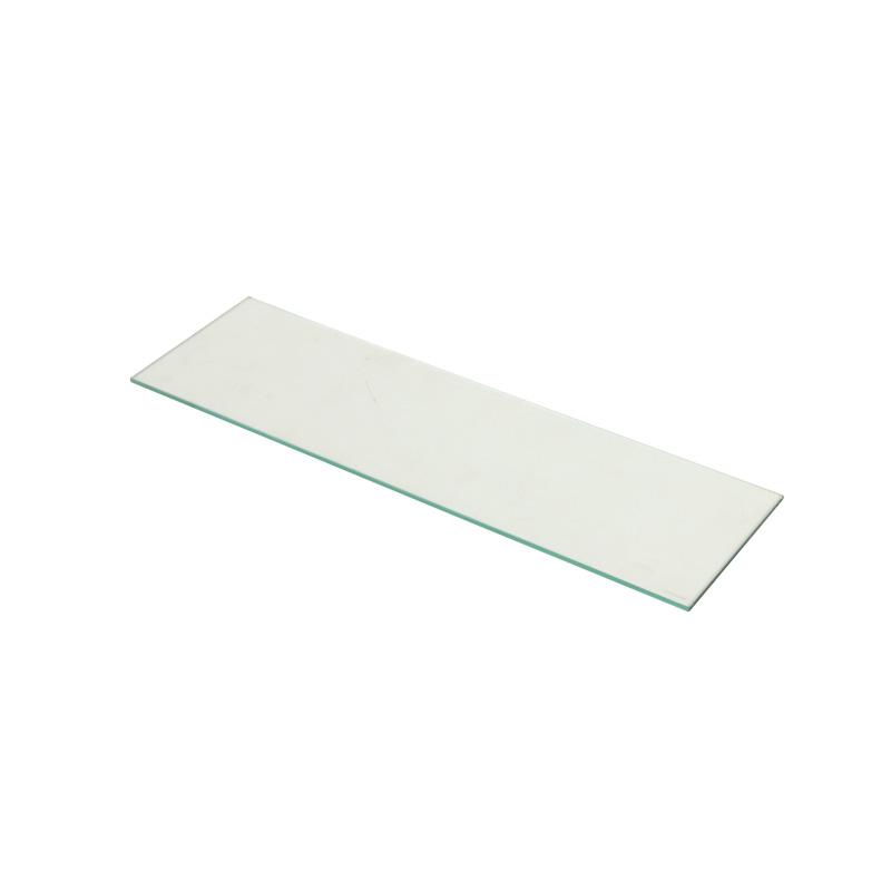 コレクションラックレギュラー専用ガラス棚板 1枚 奥行19cm用