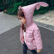 格安!100、110、120、130、140セット★キッズ★秋冬新作★厚★綿入れ★フード付コート★ジャケット
