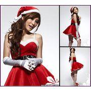 クリスマス服 ☆レディース  仮装 サンタ衣装 コスチューム コスプレ 誘惑制服