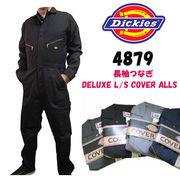 再入荷!Dickies 4879つなぎ DELUXE L/S COVER ALLS(レギュラーサイズ)