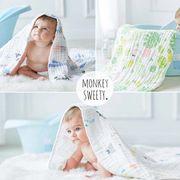 ブランケット バスタオル 新生児 ベビー 寝袋