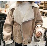 レディースアウター  2色 カーディガン 裏起毛 ジャケット コート トレンチコート通勤 通学人気