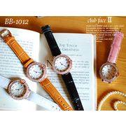 【NEW】ジルコニア ブルーリューズ ドレスウォッチ -レディースウォッチ- 女性用腕時計★BB-1012