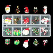 【在庫限り】クリスマスネイルパーツ10種類20個セット