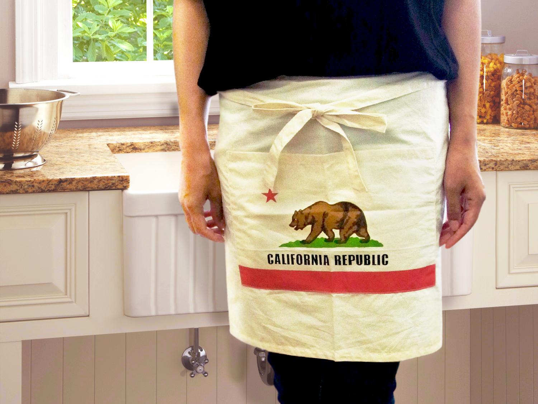 【CALIFORNIAREPUBLIC】アメリカンなエプロン!