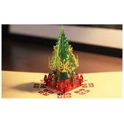 クリスマス 立体クリスマスカード グリーティングカード・ギフトカード