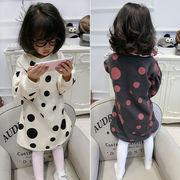 キッズ洋服 小中児子供 ファッション 丸襟 魏のドレス 冬 新しいデザイン 女児 赤ちゃ