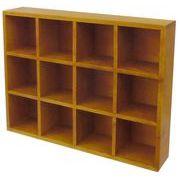 丸和貿易 コレクションボックス ラバーウッド M アンバー