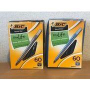 BICボールペン60本セット