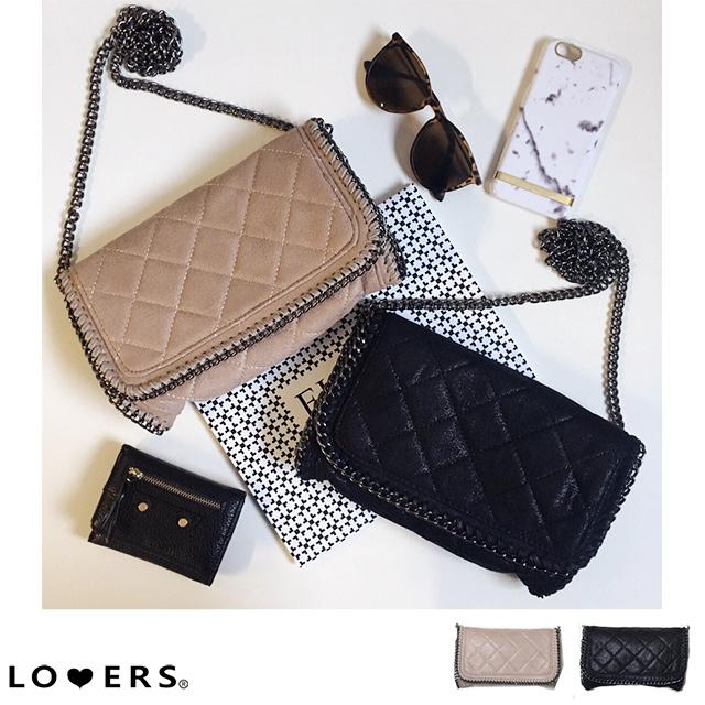 冬新作 キルティングチェーンバッグ【即納】バッグ 鞄 チェーンバッグ