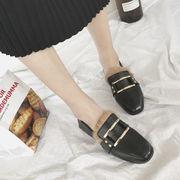 イングランド ふわふわ 小さな靴 女 秋冬 学生 何でも似合う ローファー 韓国風 スク