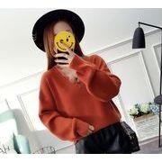 【大きいサイズXL-3XL】ファッションセーター♪ブラック/イエロー/アカ3色展開◆