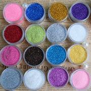 選べる32色 キラキラ微粒子ラメグリッター レジン封入用素材ケース入り ジェルネイル ネイルレンジ用