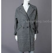 コート チェック柄 ボタン 韓国風 ファッション r3001656